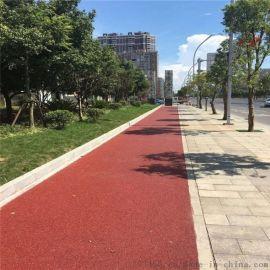 昆明黑旧沥青路面喷涂彩色路面工程