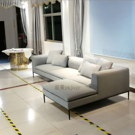 布藝皮革定制多人沙發轉角沙發組合沙發