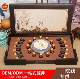 广州肤润化妆品厂精油套盒肩颈胸部卵巢OEM贴牌