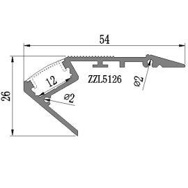 专业生产LED台阶灯外壳套件 深圳厂家