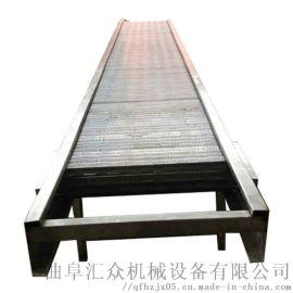 悬挂输送链条 板链输送机安装 六九重工 不锈钢链板