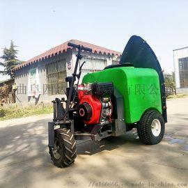 自走式果园打药机视频 全自动农用喷雾机