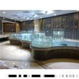 深圳海鲜池设计、贝类海鲜池定制