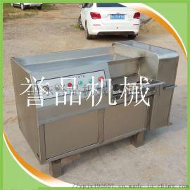 冻肉鲜肉多功能切丁机切片机-350型猪喉管切丁机