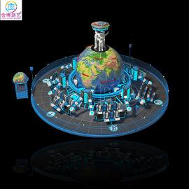 新型户外游乐场项目48人流浪地球大型游乐设施制造商