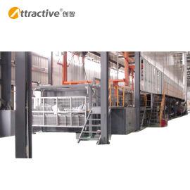 【广东创智】自动工业浸塑生产线 喷漆机器人生产线