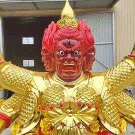 树脂佛像 2.1米火神爷像 火德星君雕塑