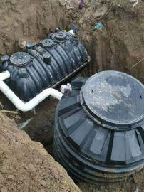 黑臭水体处理生物菌微动力净化槽生活污水处理设备