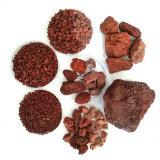 供應 多肉無土栽培火山岩 水處理火山石 紅色火山岩