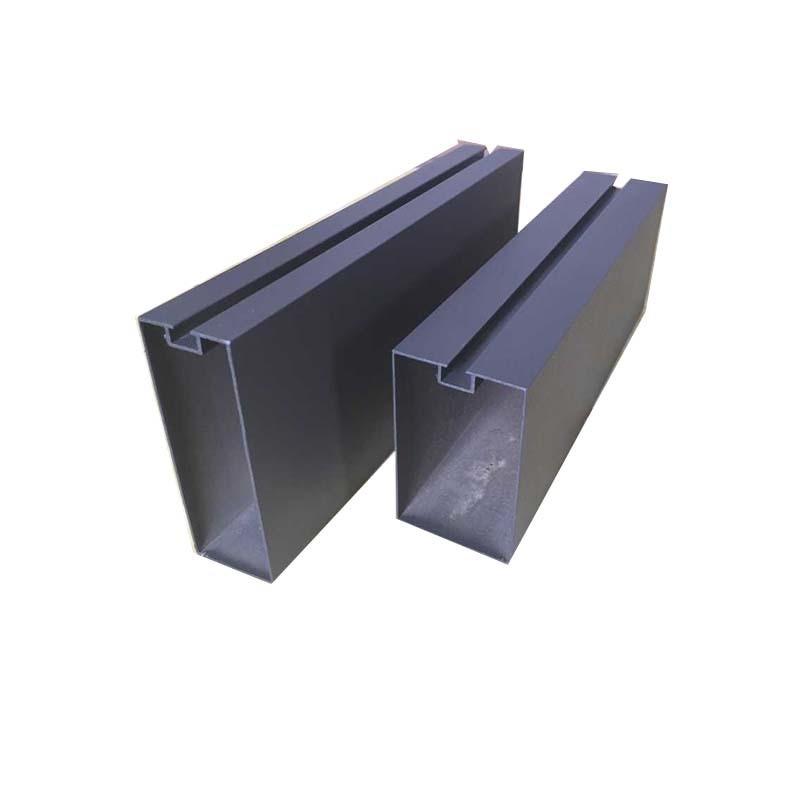 40mm*80mm橡木深花梨木紋鋁方通廠家現貨直銷