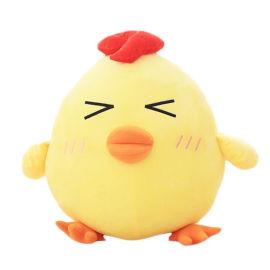 定做毛绒玩具小鸡公仔 来图定制吉祥物