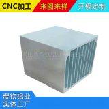 廠家定做鋁合金散熱器,散熱鋁型材開模加工,工業鋁製品CNC加工