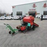 厂家直销轴承外置打捆包膜机 柴油全自动打捆一体机