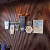 罗湖区昨天铝长城板背景墙 门头店招木纹铝长城板定制