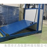 轮椅车斜坡滑行试验机 老人车耐久寿命试验机