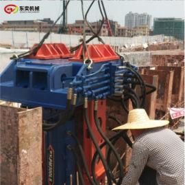 700工法H型钢起拔作业 用液压拔桩机械