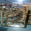 麒麟浮雕造型铝单板 牛气冲天图案浮雕铝板定制