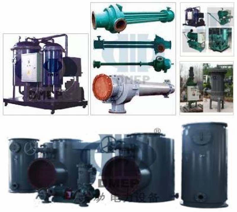 汽機輔機, 膠球清洗裝置, 冷油器, 濾水器, 汽封加熱器