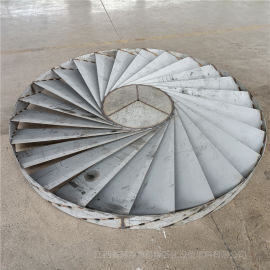 不锈钢叶片式旋流板除雾器的性能特点介绍