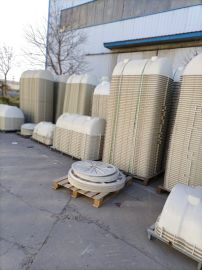 公厕改造卧式水处理罐玻璃钢污水池规格