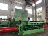 400吨卧式全自动不锈钢料打包机、废旧下脚料打包机