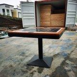 南京玄武區太陽能戶外充電桌子,公共太陽能休閒桌子