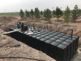 500M3装配式BDF抗浮地埋箱泵一体化