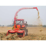 小型秸秆青储机 玉米茎穗收获机 青贮饲料收获机