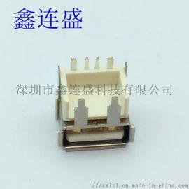 USB母座大电流短体10.8 加高H9.7 快充