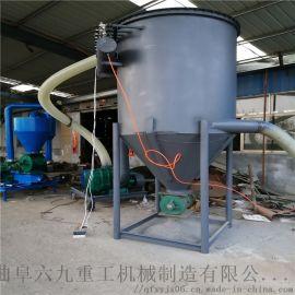 石灰粉气力输送 仓式气力输送泵主要特点 六九重工