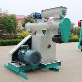 山东饲料颗粒机厂家 环模HKJ250小型颗粒机