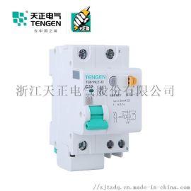 天正电气 空气开关TGB1NLE-32 1P+N C 6A-32A 30mA-300mA 微型漏电保护断路器