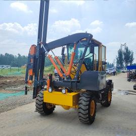 立柱打桩机 护栏打桩机 路面护栏打桩机 品质保证