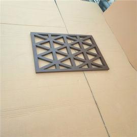 仿古焊接铝合金花格窗 防盗仿古铝花格门窗