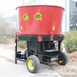 拖拉机带草捆破碎粉碎机,牛场饲草养殖草捆粉碎机