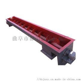 螺旋输送器 螺杆上料机多功能 六九重工 减速式输送