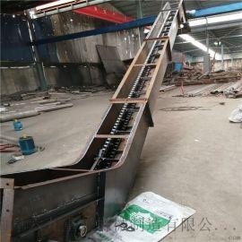 不锈钢刮板机 饲料刮板输送机 六九重工铸石板耐磨刮