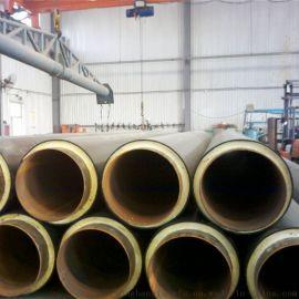 湖北聚氨酯地埋保温管,直埋暖气保温管道