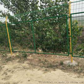 河道水渠防护网 南水北调防爬隔离栅护栏