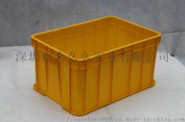 塑料胶箱防静电周转箱物料箱全新料塑胶周转筐现货供应