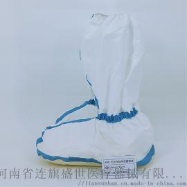 廣東一次性防護靴套加厚防水耐磨**鞋腳套
