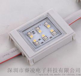 深圳工厂**开发设计高品质工程专用方形RGB+W点光源DMX512控制