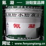 氰凝防水防腐塗料廠價直供/耐酸耐鹼耐鹽水池防水