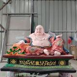 弥勒佛 佛教大肚弥勒 弥勒菩萨佛像雕塑 三宝佛像