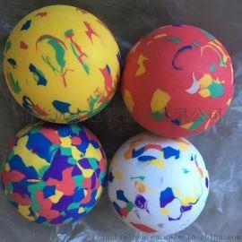 汕头环保EVA 彩虹球定制 多密度玩具