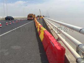 上海浦东滚塑水马 高速公路防撞墩 交通隔离墩