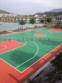 南宁篮球场铺设塑胶地板-环保安全丙烯酸地板