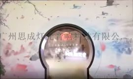专业3d雾幕机投影设备 水雾门投影