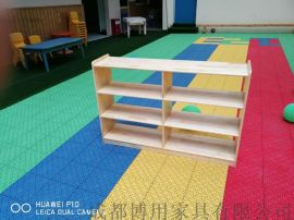 成都幼儿园玩具柜 成都实木儿童玩具柜厂家定制