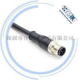 航空插头M12 458芯传感器连接器插座法兰座子